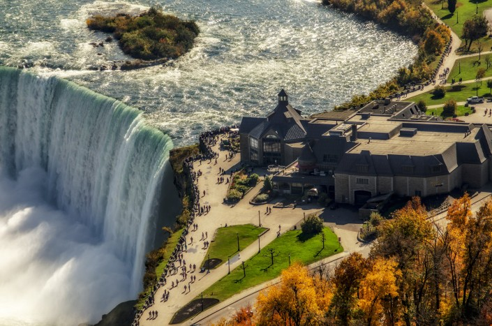 niagara from top